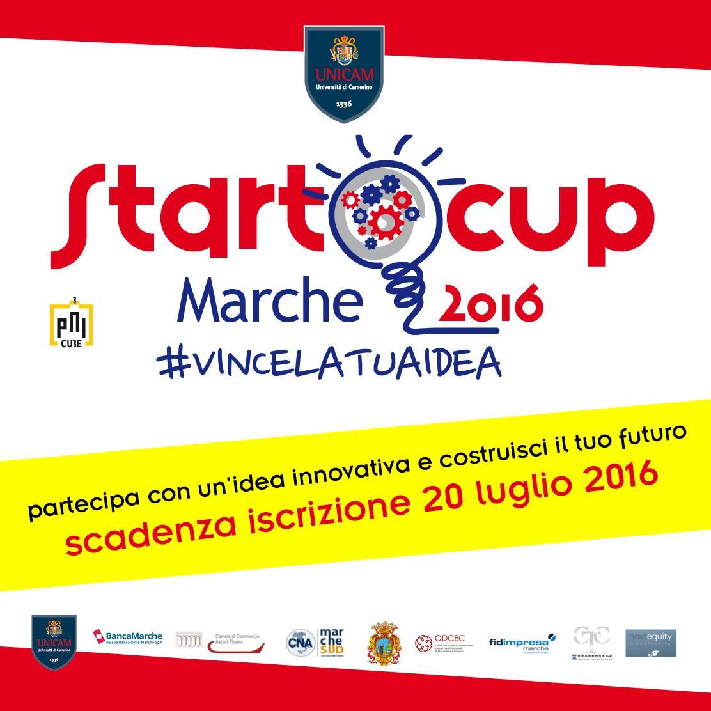 Startcup marche 2016 giuliano bartolomei for Scadenzario fiscale 2017